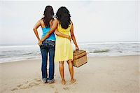 Couple Looking at Ocean Stock Photo - Premium Rights-Managednull, Code: 700-05451038
