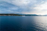 sailing boat storm - Ship and Storm Clouds, near Split, Split-Dalmatia County, Croatia Stock Photo - Premium Rights-Managednull, Code: 700-05451881