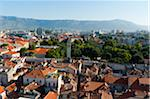 Overview of City, Split, Dalmatia, Croatia Stock Photo - Premium Rights-Managed, Artist: Emanuele Ciccomartino, Code: 700-05451896