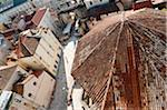 Roof of St. Dominus Cathedral and City, Split, Dalmatia, Croatia Stock Photo - Premium Rights-Managed, Artist: Emanuele Ciccomartino, Code: 700-05451900