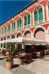 Restaurant Patio, Trg Brace Radica, Split, Dalmatia, Croatia Stock Photo - Premium Rights-Managed, Artist: Emanuele Ciccomartino, Code: 700-05451907