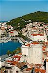 Overview of City, Split, Split-Dalmatia County, Croatia Stock Photo - Premium Rights-Managed, Artist: Emanuele Ciccomartino, Code: 700-05451942