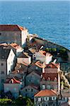 View of Old Town, Dubrovnik, Dubrovnik-Neretva County, Croatia Stock Photo - Premium Rights-Managed, Artist: Emanuele Ciccomartino, Code: 700-05451955