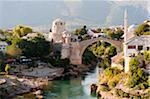 Stari Most, Mostar, Herzegovina-Neretva Canton, Bosnia and Herzegovina Stock Photo - Premium Rights-Managed, Artist: Emanuele Ciccomartino, Code: 700-05451960