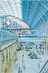 St. Pancras Eurostar Terminal, Camden, London, England Stock Photo - Premium Rights-Managed, Artist: Matt Brasier, Code: 700-05452083