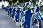 Barclays Cycle Hire Bicycles in Docking Stations, Camden, London, England Stock Photo - Premium Rights-Managed, Artist: Matt Brasier, Code: 700-05452086