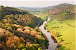 Symonds Yat, Forest of Dean, River Wye, Gloucestershire, South West England, England