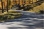 Road, La Punt-Chamues-ch, Albula Pass, Canton of Graubunden, Switzerland Stock Photo - Premium Royalty-Free, Artist: Raimund Linke, Code: 600-05452178