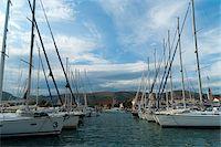 sailing boat storm - Boats in Port, Trogir, Split-Dalmatia County, Croatia Stock Photo - Premium Rights-Managednull, Code: 700-05452109