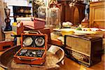 Old Radios on Display in Antiques Shop, Edinburgh, Scotland, United Kingdom Stock Photo - Premium Rights-Managed, Artist: Tim Hurst, Code: 700-05452117