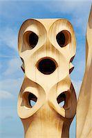 Close-Up of Espanta Bruixes, Casa Mila, Barcelona, Spain Stock Photo - Premium Rights-Managednull, Code: 700-05452123
