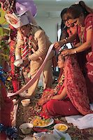 special moment - Hindu Wedding Ceremony for Nepalese Couple, Bangkok, Thailand Stock Photo - Premium Rights-Managednull, Code: 700-05452192