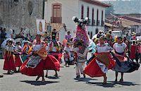 St. Fatima Parade in Plaza Gertrudis Bocanegra, Patzcuaro, Michoacan, Mexico Stock Photo - Premium Rights-Managednull, Code: 700-05452199