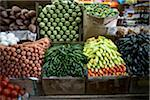Mexico, Baja, Tijuana, Hidalgo Market, vegetables on display Stock Photo - Premium Royalty-Free, Artist: ableimages, Code: 6106-05460253