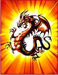 Dragon Stock Photo - Premium Royalty-Free, Artist: Cusp and Flirt, Code: 6106-05461241