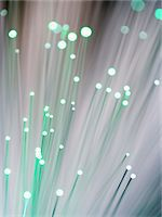 fibre optic - Fiber optics, close-up Stock Photo - Premium Royalty-Freenull, Code: 6106-05462316