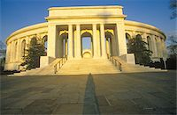 Arlington Memorial Theater at Sunset, Washington, D.C. Stock Photo - Premium Royalty-Freenull, Code: 6106-05472745