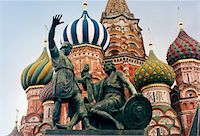 St. Basil's Cathedral, Moscow, Russia Stock Photo - Premium Royalty-Freenull, Code: 6106-05493863