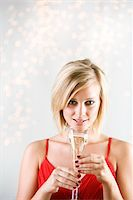 Holiday Champagne Stock Photo - Premium Royalty-Freenull, Code: 6106-05494866