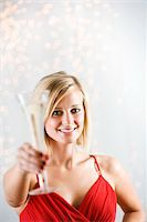 Holiday Toast Stock Photo - Premium Royalty-Freenull, Code: 6106-05494914