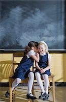 school girl uniforms - Grade 1 students in classroom Stock Photo - Premium Royalty-Freenull, Code: 6106-05495419