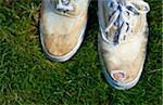 Toe poking through hole in sneakers Stock Photo - Premium Royalty-Free, Artist: Robert Harding Images, Code: 6106-05496260