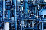 Oil refinery Stock Photo - Premium Royalty-Freenull, Code: 6106-05496438