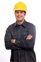Construction Worker Stock Photo - Premium Royalty-Freenull, Code: 6106-05500013