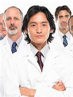 Male doctors, portrait Stock Photo - Premium Royalty-Freenull, Code: 6106-05504093