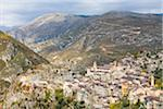 France, Provence, village of Saorge, elevated view Stock Photo - Premium Royalty-Free, Artist: Raimund Linke, Code: 6106-05508645