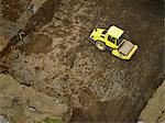 Bulldozer driving on dirt at quarry Stock Photo - Premium Royalty-Free, Artist: CulturaRM, Code: 649-05520971