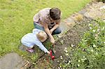Mother and daughter gardening Stock Photo - Premium Royalty-Free, Artist: Ron Fehling, Code: 649-05522136