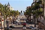 Downtown Ventura, California, USA