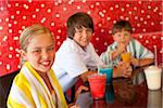 Children at Pool Bar Stock Photo - Premium Royalty-Free, Artist: George Contorakes, Code: 600-05524091