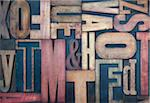 Wood Letterpress Stock Photo - Premium Rights-Managed, Artist: Daryl Benson, Code: 700-05524389