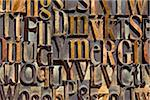 Wood Letterpress Stock Photo - Premium Rights-Managed, Artist: Daryl Benson, Code: 700-05524391
