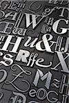 Metal Letterpress Stock Photo - Premium Royalty-Free, Artist: Daryl Benson, Code: 600-05524405