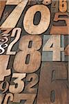 Letterpress Numbers Stock Photo - Premium Royalty-Free, Artist: Daryl Benson, Code: 600-05524430