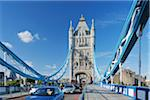 Tower Bridge with Traffic, London, England Stock Photo - Premium Rights-Managed, Artist: Martin Ruegner, Code: 700-05524559