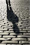 Shadow of Person on Cobblestones, London, England Stock Photo - Premium Rights-Managed, Artist: Martin Ruegner, Code: 700-05524561
