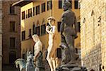 Italy, Florence, statues outside Palazzo Vecchio Stock Photo - Premium Royalty-Freenull, Code: 6106-05526911