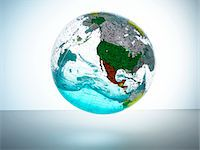 Globe with water inside Stock Photo - Premium Royalty-Freenull, Code: 6106-05540349