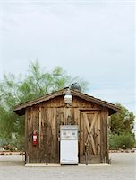 rural gas station - Remote fuel pump station Stock Photo - Premium Royalty-Freenull, Code: 6106-05548346