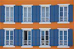 Shutters and windows on ornate building Stock Photo - Premium Royalty-Free, Artist: Andrew Kolb, Code: 635-05550467