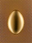 Close up of golden egg Stock Photo - Premium Royalty-Freenull, Code: 635-05550663