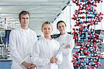 Scientists with molecular model in lab Stock Photo - Premium Royalty-Free, Artist: Cultura RM, Code: 635-05550831