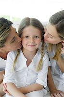 Girl with mother and grandmother, portrait Stock Photo - Premium Royalty-Freenull, Code: 632-05553627