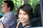 Couple in Car Stock Photo - Premium Rights-Managed, Artist: ableimages, Code: 822-05554317