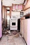 Wrecked Kitchen Stock Photo - Premium Rights-Managed, Artist: ableimages, Code: 822-05554792