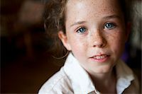 Portrait of Young Girl Stock Photo - Premium Rights-Managednull, Code: 822-05554868